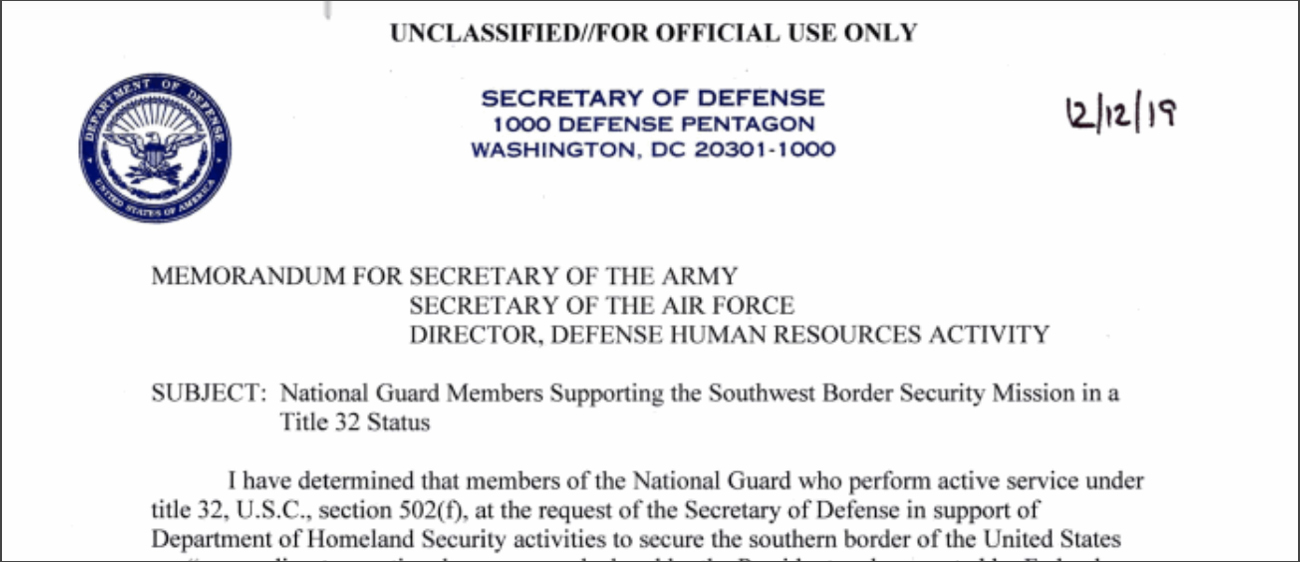 Huge Win for the National Guard